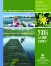 King County Noxious Weed Control Program 2016 Annual Report Cover