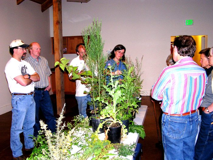 Noxious weed identification class